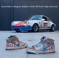 ISHOD WAIR X Magnus Walker Pro 277 SB Dunk Shoes Dunking Shoes High Trainer Basso Skate Sneaker Blu Blu Blu Red Nike Sail Urban Outw Breaks Casual Sneakers 36-45