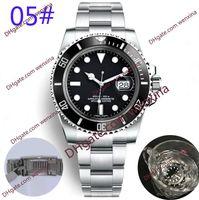 20 orologio deluxe di alta qualità uomini 41mm automatico orologio di alta qualità orologio blu anello in ceramica impermeabile mens meccanico orologio di Lusso orologio da polso