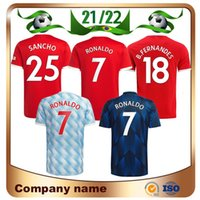 21/22 Манчестер Роналду Рашфорд Погба Футбол Джерси 2021 рубашка Sancho B.fernandes R.varane Lingard Martial Cavani Greenwood Shaw Kids Kit Футбольная форма