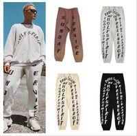 Abbigliamento da uomo Pantaloni Pantaloni Pantaloni da uomo Jeans Uomini Europeo e American Moda di grandi dimensioni Capris Casual Casual Handsome Wear Couple Pant Kanye West