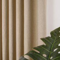 DZQ moderne massive Blackout Vorhänge für Wohnzimmer Leinen Vorhang für Schlafzimmerfensterbehandlung Drapieren Dekoration Jalousien