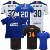 20 21 Rangers Glasgow Soccer Jersey 2020 2021 Castore Футбольная футболка Чемпионы Defee Morelos Kent Aribo Arfield Мужские Женщины Детский Комплект
