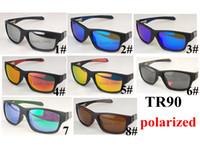 مصمم نظارات الرجال الرجال في الرجال الرياضة دراجة ploarized الرجال الصيف الدراجات نظارات دراجة tr90 إطار 8 ألوان سعر المصنع 5 قطع