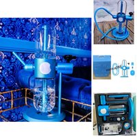 100% Stundenglass x C Hookah Gravity Bong Kit E-cigarette Water Pipe Oil Glass Pipes Smoking Shisha Smoke Dabber Accessories For Tobacco Bowl Recycler Bongs Dab Rig