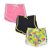 3 قطعة الصيف الأطفال الرياضة السراويل السراويل للفتيات السراويل القصيرة سراويل الاطفال الرباط اليوغا قصيرة الرياضة السراويل ملابس الطفل