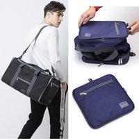 Duffel Bags Travel Bag Folding Holdall Large Capacity Hand Luggage Organizer Weekender Big Foldable Lightweight Backpack Duffle
