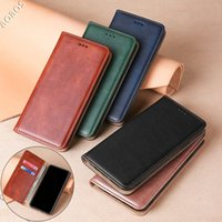 Phone Case PU Leather Shockproof Flip type bracket Cover Soft TPU for iPhone 12 11 Pro Max Mini XR XS X 6 7 8 Plus