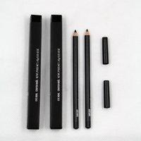 Crayon Eyeliner Kohl Crayon Coldder Noir Couleur avec boîte Facile à porter Maquillage cosmétique naturel de longue durée Matita occhi
