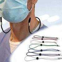 12彩色マスクストラップ調節可能なマスクハングロープのフェイスマスクアンチロスストラップ耳ホルダーロープハングハングネックHHA1555