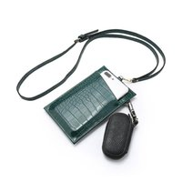 Wallets Phone Cover Case Holder Coin Purse For Wallet Female Pouch Leather Shoulder Strap Handbag