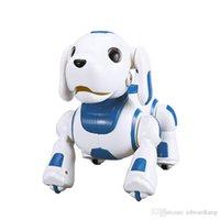 YDJ K22 RC Robot Dog Toy, Control de Sensación Touch, Dance Sing, Lights, Programación inteligente, Aprende Inglés, Para Navidad Kid Cumpleaños Regalo