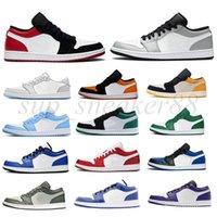 Mens 1 1S Basto Basquete Shoes 1s Womens Blue Moon Vermelho Banido criado Chicago Black Toe Court Roxo Jogo Royal Unc Shadow Sneakers