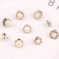 Pins, Broşlar Küçük Broş Pins Kadınlar için Deisgner Inci Moda Kalp Kristal Takı Kadın Giyim Aksesuarları Düğün Parti Hediyeler