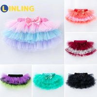 LINLING Baby Princess Skirt Solid Color SkirtSoft Mesh Skirt...