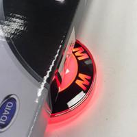 2020 novo 82mm 4d carro led logotipo retrovisor luz adesivo de luz emblem cauda lâmpada decoração para bmw