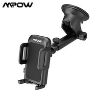 MPOW CA032 Yükseltilmiş Araba Telefonu Tutucu Standı Ayarlanabilir Dashboard Smartphone Dağı ile Güçlü Yapışkan Pad 360 Derece Rotasyon