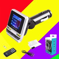 FM12B Bluetooth Car Charger MP3 FM Transmitter Muisc Player With Handsfree Wireless Cars Kit Charging Support TF Card Line-in AUX USB Disk