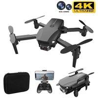 R16 Mini Drone 4 K Profesyonel Kamera HD WiFi FPV Drone Hava Basıncı Sabit Yüksekliği Dört Eksenli RC Helikopter Kamera Dron Oyuncaklar 210915