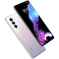 "Original Meizu 18 5G Mobiltelefon 12 GB RAM 256 GB ROM Snapdragon 888 Octa Core 64MP NFC 4000MAH Android 6.2 ""Am gelöster gebogener Vollbild-Fingerabdruck-ID Gesicht Smart-Handy"