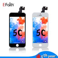 EFaith High Quality Full set LCD For iPhone 5G 5S 5C SE Display Touch Panels Digitizer Assembly Repair Replacements With Home button