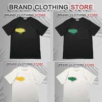 럭셔리 T 셔츠 브랜드 디자이너 LM ELS T 셔츠 PA 의류 스프레이 문자 반팔 봄과 여름 조류 같은 스타일의 S-2XL을 가진 여름 남성과 여성