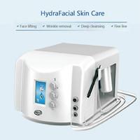 Professionnel Power Pelc Crystal Powdermabrasion Microdermabrasion Cristal et Diamond Dermabrasion Peau Peeling 2 sur 1 Dispositif facial Soins de la peau