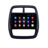 터치 스크린 자동차 DVD 자동 라디오 플레이어 FM / AM / SWC 르노 KWID 2012-2017 9 인치 안드로이드 미러 링크 백미 카메라 1080P 비디오 OBD2