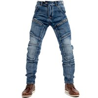 Men's Jeans Street Hip Hop 2021 Fashion Blue Slim Casual Trousers Large Size Straight
