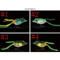 New Soft Rubber Ray Frog Snakehead Lure 8g-4.5cm 11g-5cm 14g-5.5cm 3 Size Topwater Lifelike Frog jllvYC outbag2007