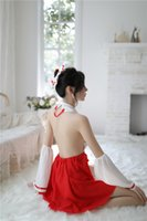 Sexy Set Lingerie Japanese Cosplay Witch Pleated Skirt Uniform SeductionSuit Stripper Clothes Costume Women exotic New