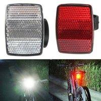 Fahrrad Lichter Reflektor Nacht Sicherheit Radfahren Warnung Kunststoff Reflektierende Lichtlinse Fahrradzubehör 22,2 cm / 28,6 cm Durchmesser Teile