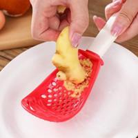 주방 도구 다기능 연삭 요리 숟가락 으깬 쿠 싱 쿠리 리아 생강 과일 야채 도구