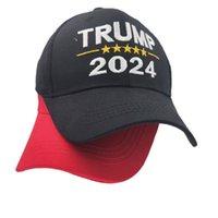 Präsident Trump 2024 Ball Hat Stickerei Brief Maga Baseballkappen Unisex Einstellbare Snapback USA Hip Hop Peak Cap Summer Visor GG3202.
