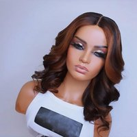 Lace Wigs Brazilian Loose Wave Highlight Human Hair 150Density Silk Top Full 360 Frontal