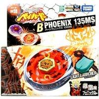 100% Original TAKARA TOMY BEYBLADE METAL FUSION BB-59 Burn Fireblaze Phoenix+Launcher AS CHILDREN'S DAY TOYS X0528