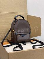 Alta Qualidade Luxurys Bag Moda Womens Designers Mochila Estilo Flap Impresso Handbag Senhoras Senhoras Bolsa de Ombro 2021 Mini Sacos Bolsas