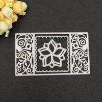 Zanaat Araçları 3 adet Çiçek Redcegane Çerçeve Metal Kesme Ölür Stencil Scrapbooking PO Albümü Kart Kağıt Kabartma DIY HH0W
