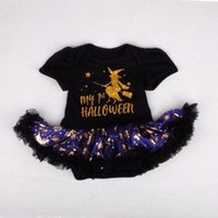 Girl's Dresses First Halloween Costumes For Born Baby Girl Clothes My 1st Dress Jumpsuit Clothing Infant Kids