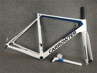 أبيض أزرق T1100 UD Glossy Carrowter V3RS قرص الكربون الطريق دراجة إطارات دراجة القرص إطارات مع 46/49/52/54 سم للاختيار