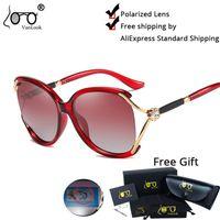 2021 Vanlook Mulheres na moda óculos de sol polarizados Strass Sun Glass Fishing Sports Big Frame Sunglasses Mulheres UV400