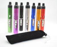 가장 최신 증기 가동 vape 기화기 향수 버너 클릭 N vape 흡연 금속 파이프 Neak A toke 부탄 가벼운 유리 파이프
