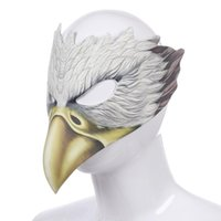 Party Masks Novelty Accessories Bird Mask Masquerade Halloween Costume Adult Kids Carnival Cosplay Dress Up Crow Eagle Face Cover