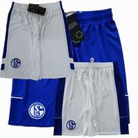 2021 2022 FC Schalke 04 Futbol Şort 20 21 22 Kutucu Harit Raman MC Kennie Serdar Futbol Spor Şort Pantolon S-2XL