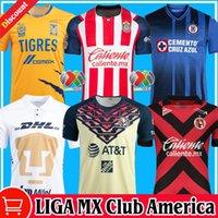 2021 2122 Chivas Guadalajara Home Away Dritter Fussball Jerseys 20/21/22 Club America Leon Atlas Unam Cruz Azul Naul Tigres Camiseta de Futbol Xolos Tijuana Shirts Kit
