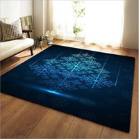 Carpets Creativity Snowflake Pattern Print Soft Carpet Bedroom Large Area Rug Child Baby Play Game Crawl Mats Home Decor Rugs