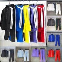 Erkek Tasarımcılar Giysileri 2021 Bayan Eşofman Adam Ceket Hoodies veya Pantolon Erkekler S Giyim Spor Kapşonlu Eşofman Stilist Spor Euro Boyutu S-XL