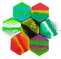 Atacado 26 ml de alimentos grau de silicone caixas de cera recipiente antiaderente frascos Dab Recipientes de silicone case de silicone para vaporizador nhf8422