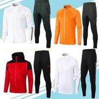 2021 Giacca da football di football di football della tracksuit per bambini per bambini Abbigliamento sportivo giovanile Jogging Boys Training Suit 20 21