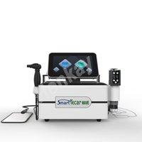 Portable 3 en 1 EMS + Vague de choc + Tecar Périphérique multifonctionnelle Tecar Machine de thérapie physique Smart Tecar pour soulagement de la douleur