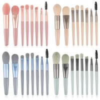 Makeup Brushes 8Pcs Tool Set Cosmetic Eye Shadow Concealer Powder Foundation Blush High Gloss Beauty Make Up Brush